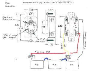 Marinco 3 Prong Trolling Motor Plug Wiring Diagram