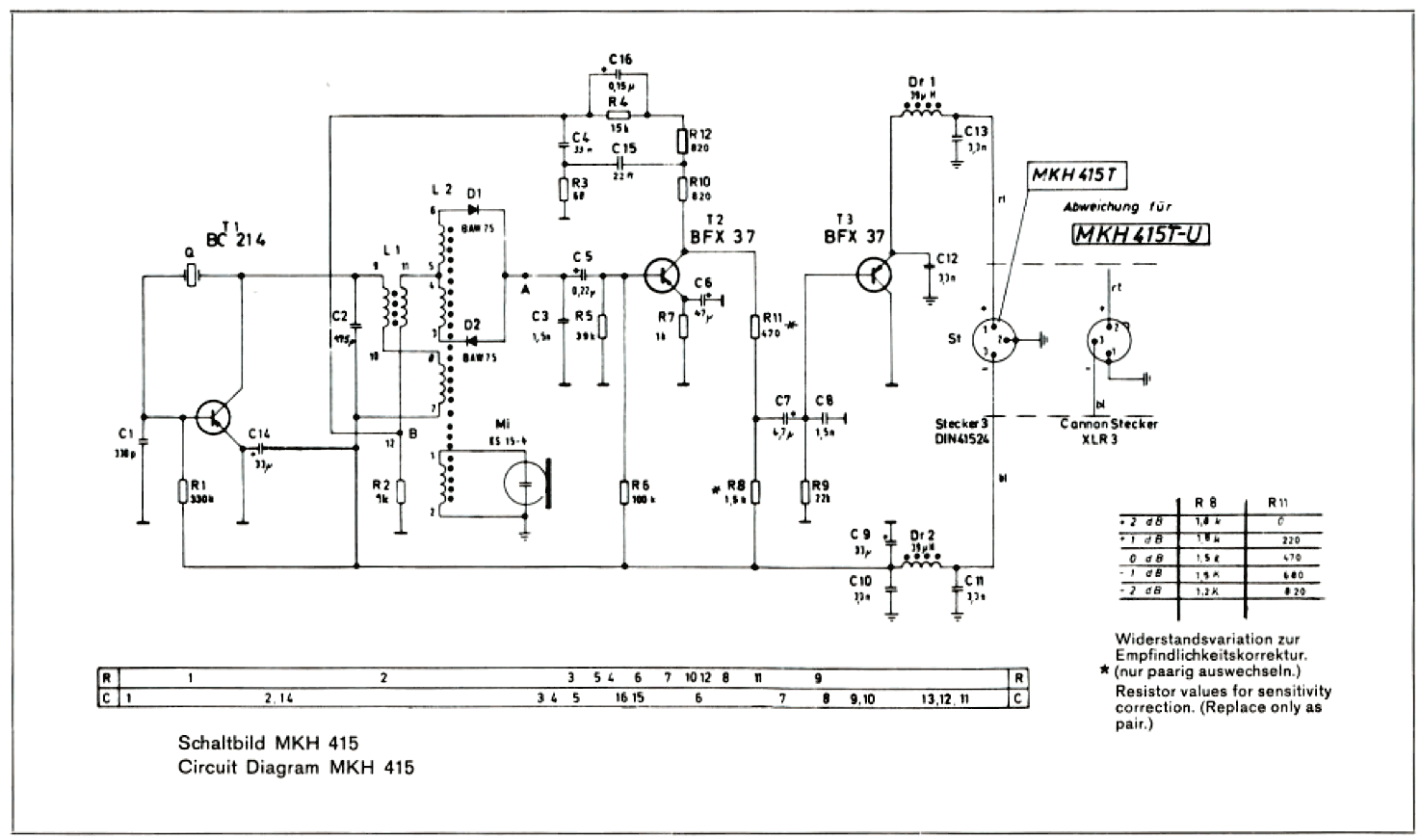 Microphone Qhm 04 Wiring Diagram