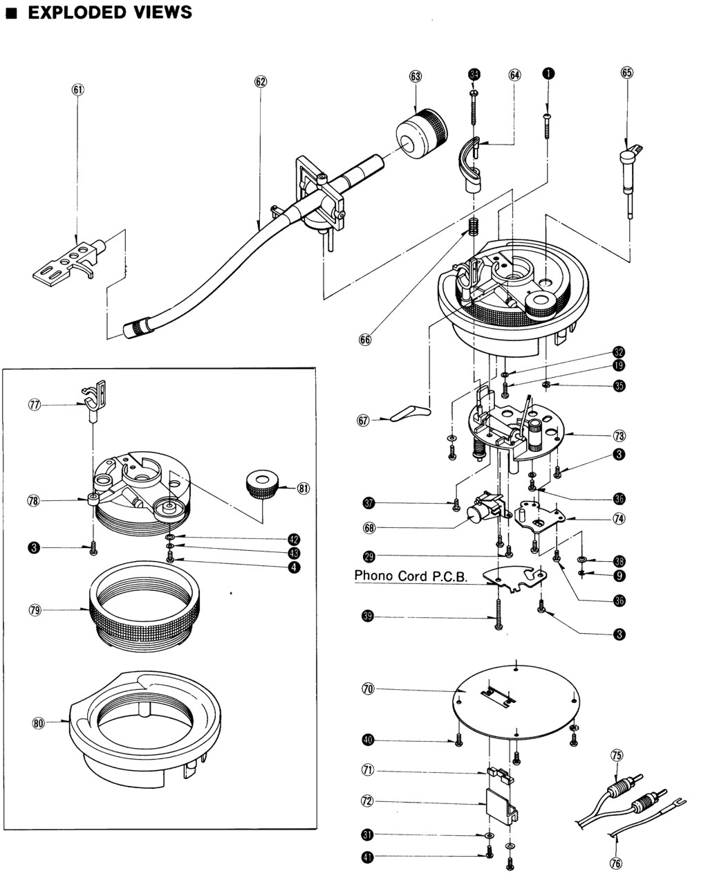Technics Tonearm Wiring Diagram