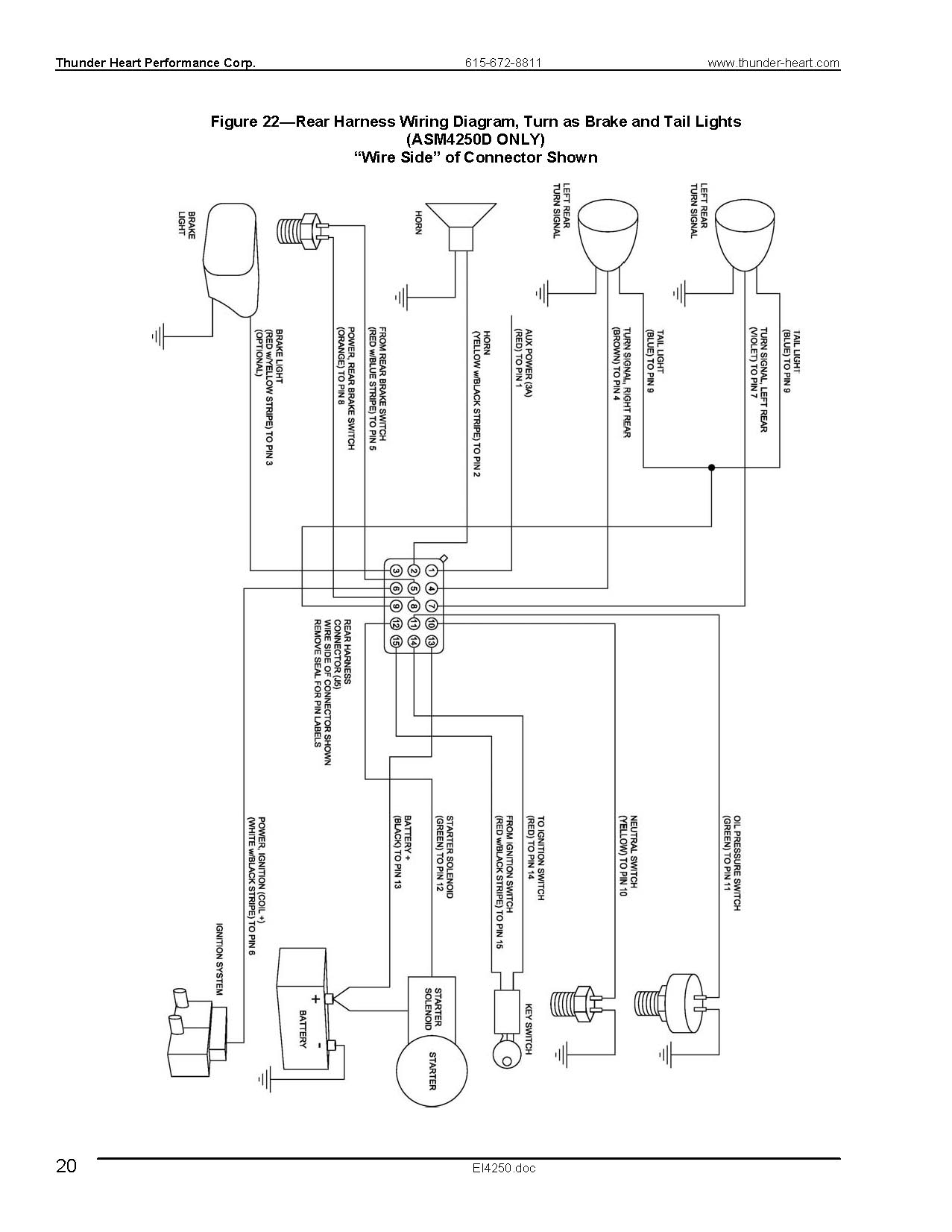 Thunderheart Wiring Diagram