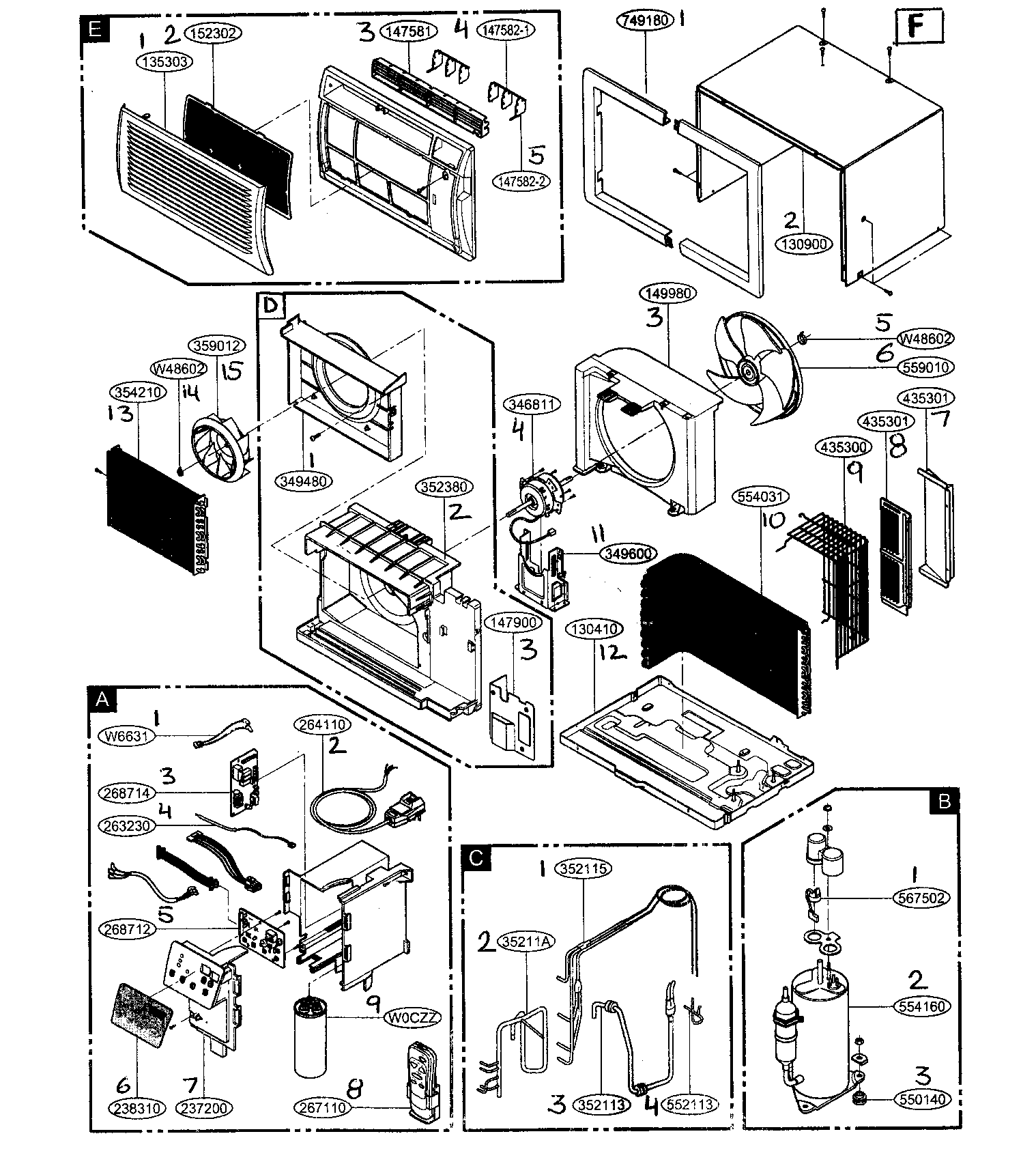Wiring Diagram For A Ge Room Air Conditioner Model Asw18dls1
