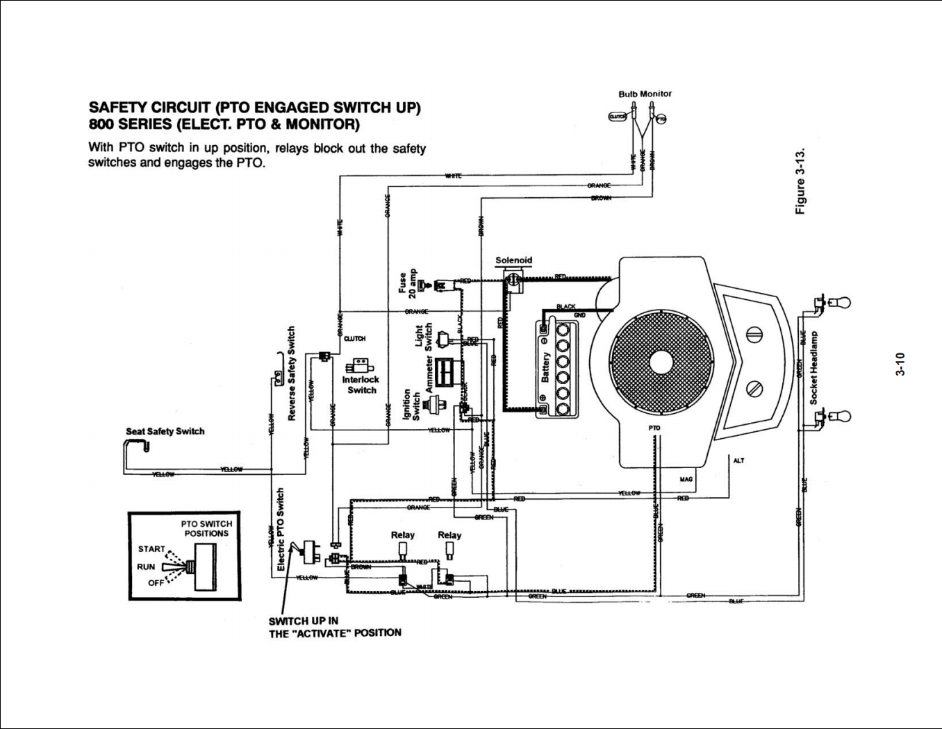 Wiring Diagram White 16 5 Hp Twin Riding Mower