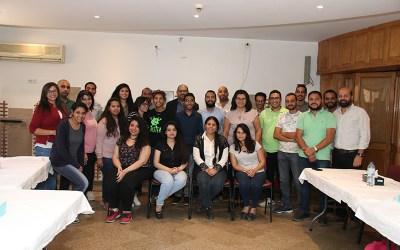 دياكونيا للتنمية ينظم بالتعاون مع سات 7 دورة للإنتاج الإعلامي