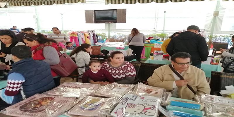"""دار سيدة السلام في القاهرة يقيم معرضا بمناسبة عيد الأم بعنوان"""" بحبك يا أمي""""."""