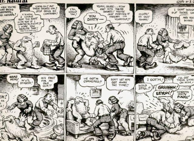 Robert Crumb, Mr. Natural (1976). Photo:comicartfans.com