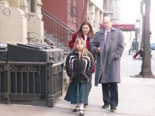 Amanda, Tania, and Randy on West 65th Street