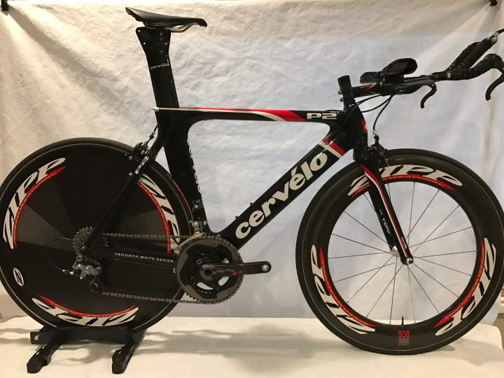 55f17e62102 Sold Certified Pre Owned Cervelo P2 W Zipp Wheels Quarq Pm
