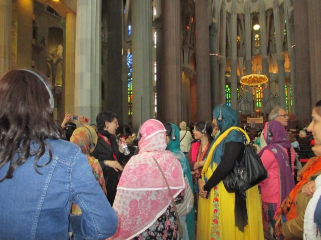 Visita Sagrada Família Antoni Gaudí maig 2014 2