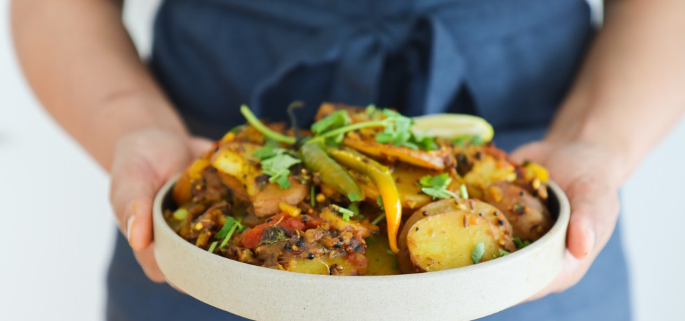 Herb & Seed Spiced Potatoes