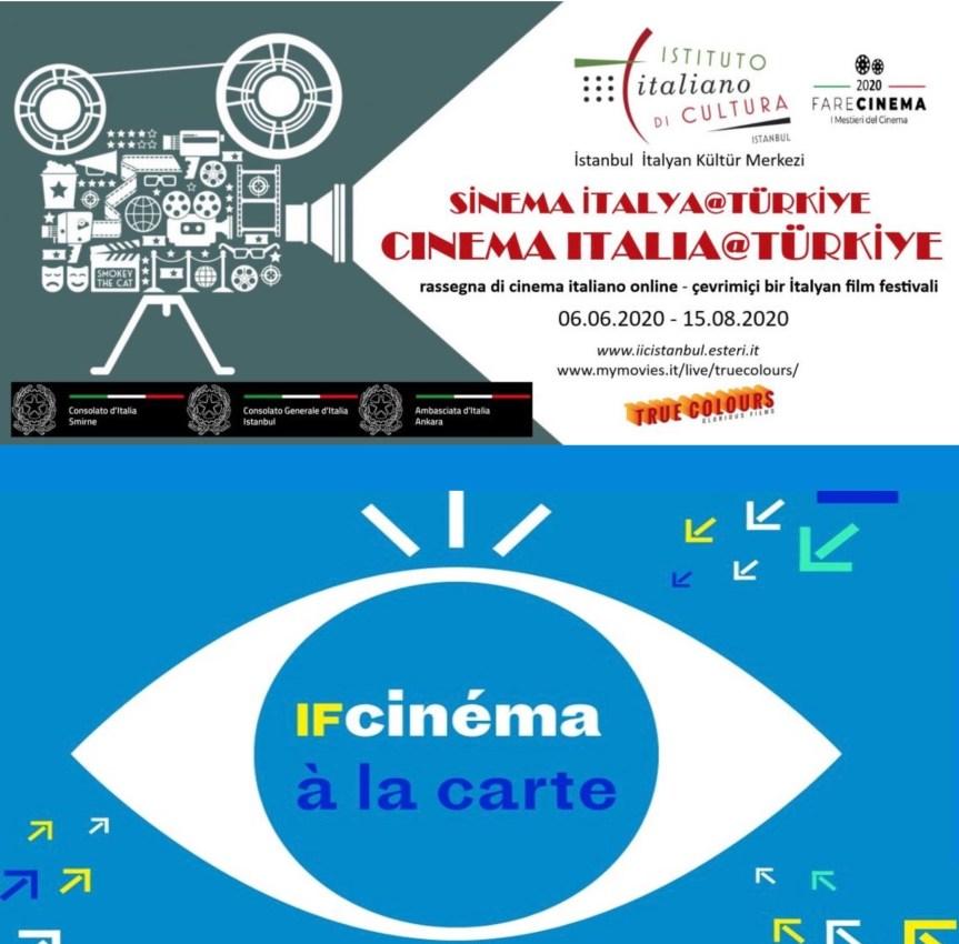 Fransız Kültür Merkezi ile İtalyan Kültür Merkezi'nden Online Film Festivalleri
