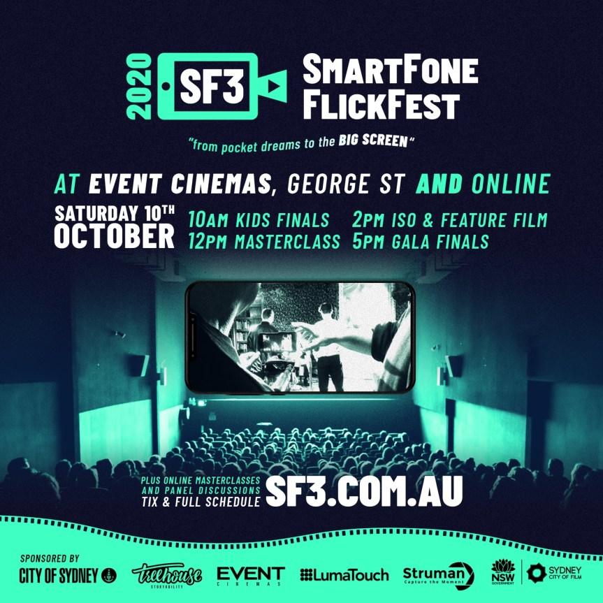 SMARTFONE FLICKFEST 2020, Avustralya'da 9 Ekim'de Başlıyor!