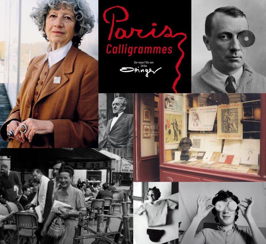 PARIS CALLIGRAMMES: Paris'in Kamburuna Tünemiş Bir Alman Sanatçının Gözünden Manzaralar