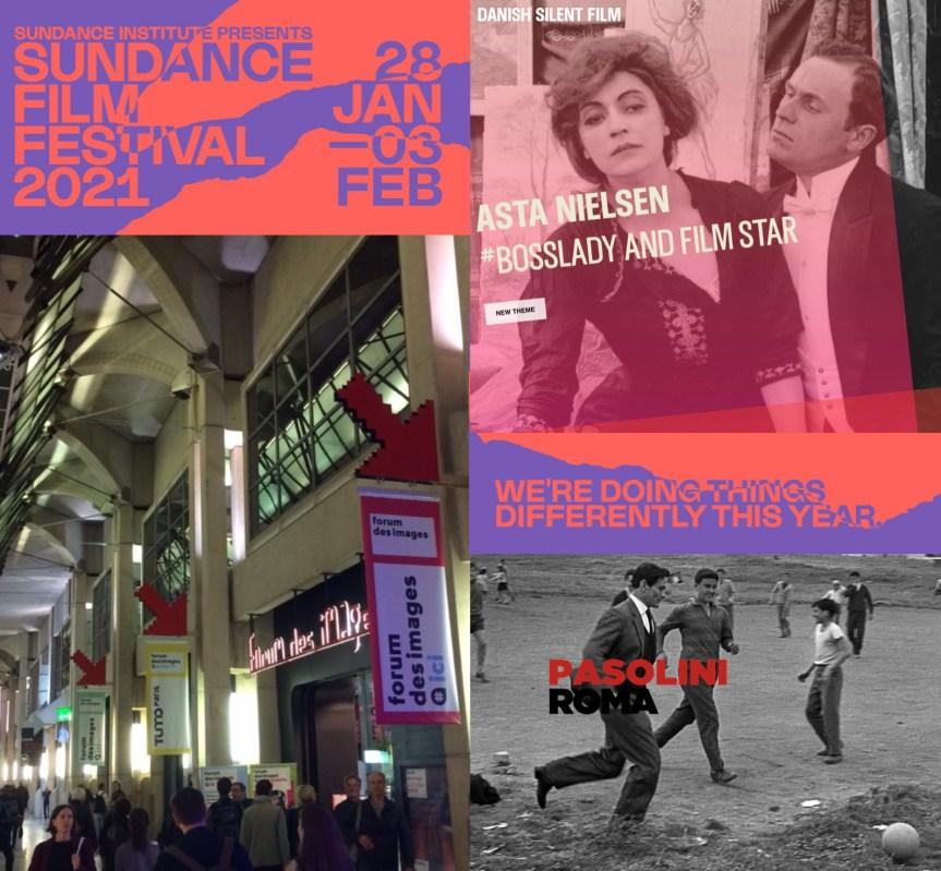 Sundance, Pasolini ve Diğer Çevrimiçi Gelişmeler