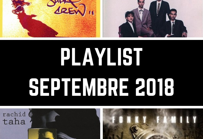 dialna - playlist septembre 2018