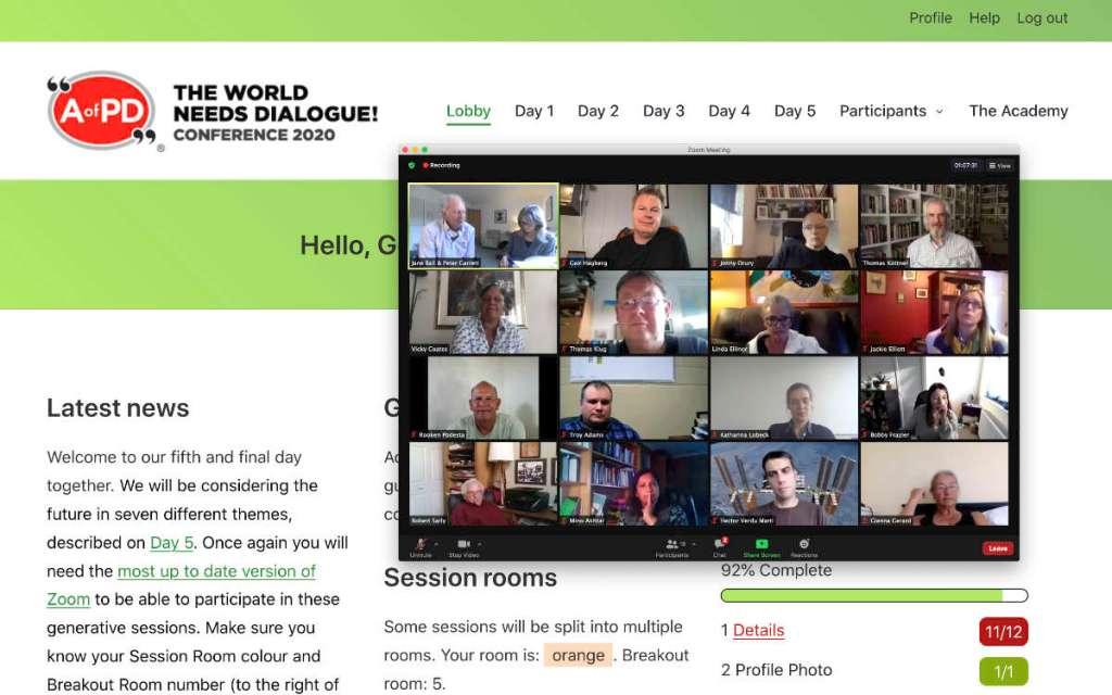The World Needs Dialogue
