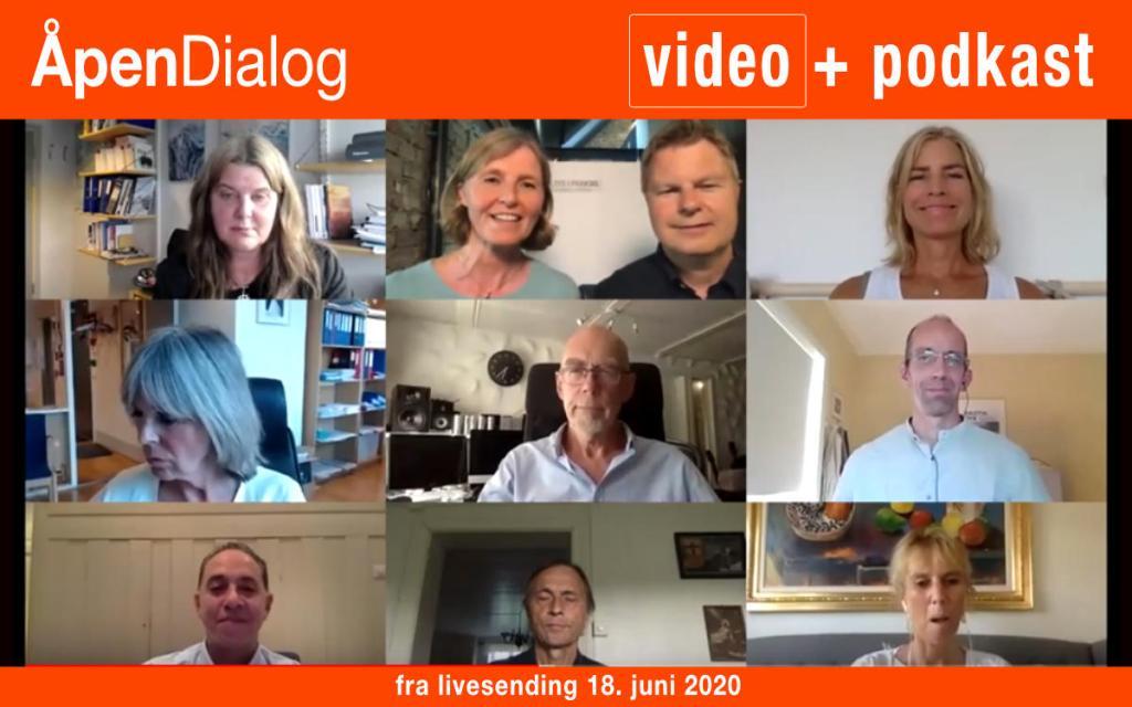 Opptak av ÅpenDialog 18.06.2020