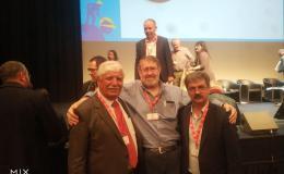 Reza Shahbi and Philippe Martinez (CGT)