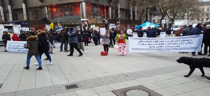هانوفر، همبستگی با مبارزات مردم ایران