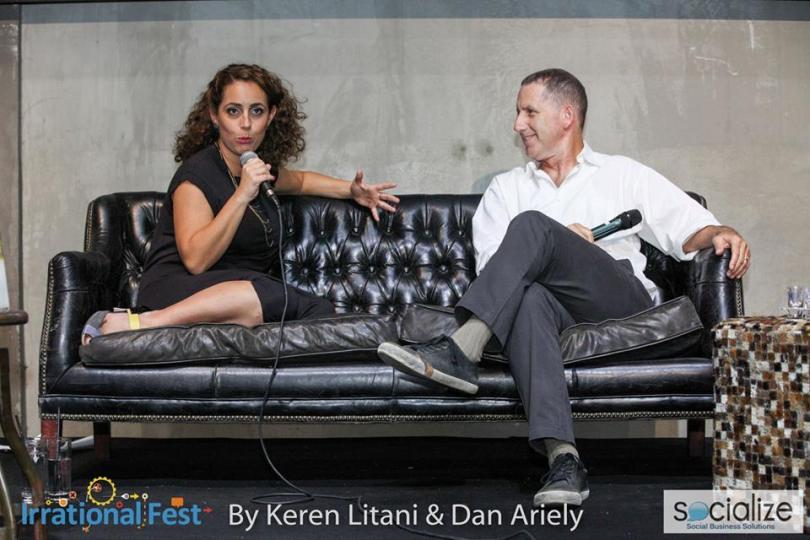 Keren Litani with Yoav Shoham