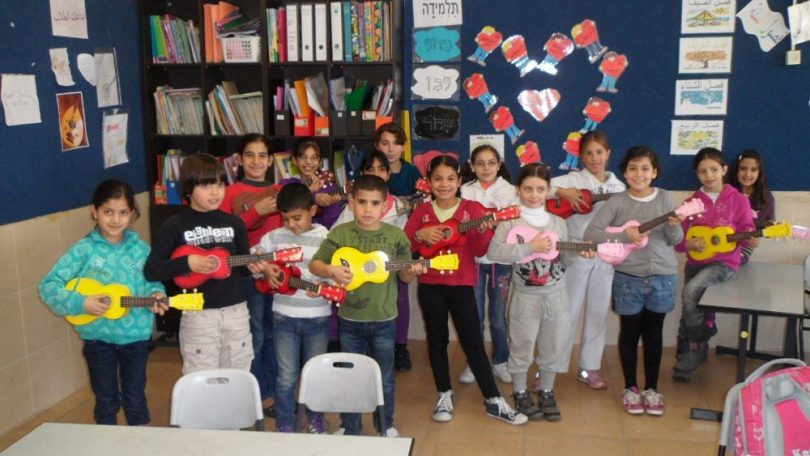ukulele-lesson-el-zahara-school-tira-arab-2