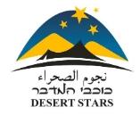 מאיץ כוכבים – כוכבי המדבר