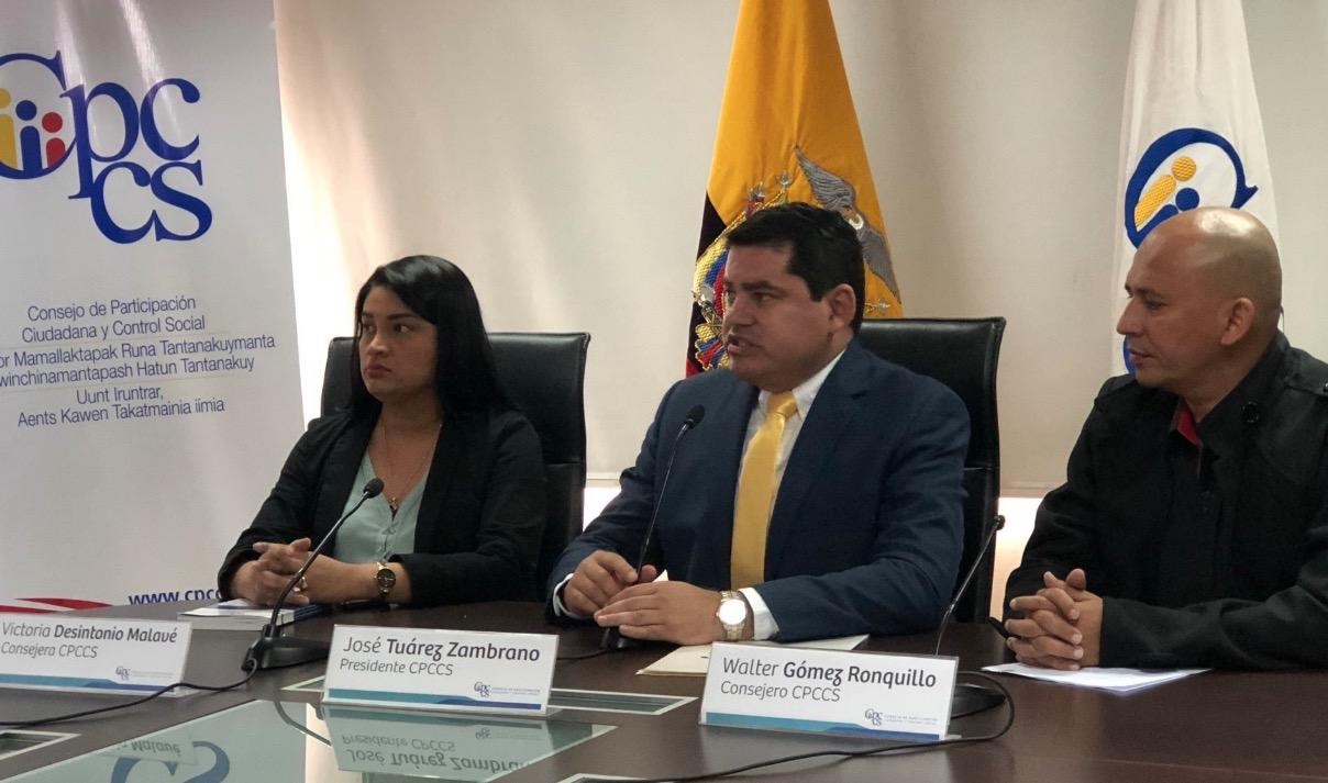 Con 79 firmas se inicia el proceso para el juicio político contra José Tuárez, Victoria Desintonio, Walter Gómez y Rosa Chalá