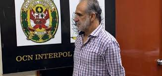 El exministro Ramiro González fue liberado por la justicia peruana