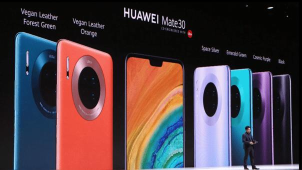 Huawei hace oficial su divorcio de Google con el Mate 30; no se sabe cuándo llegará a América Latina