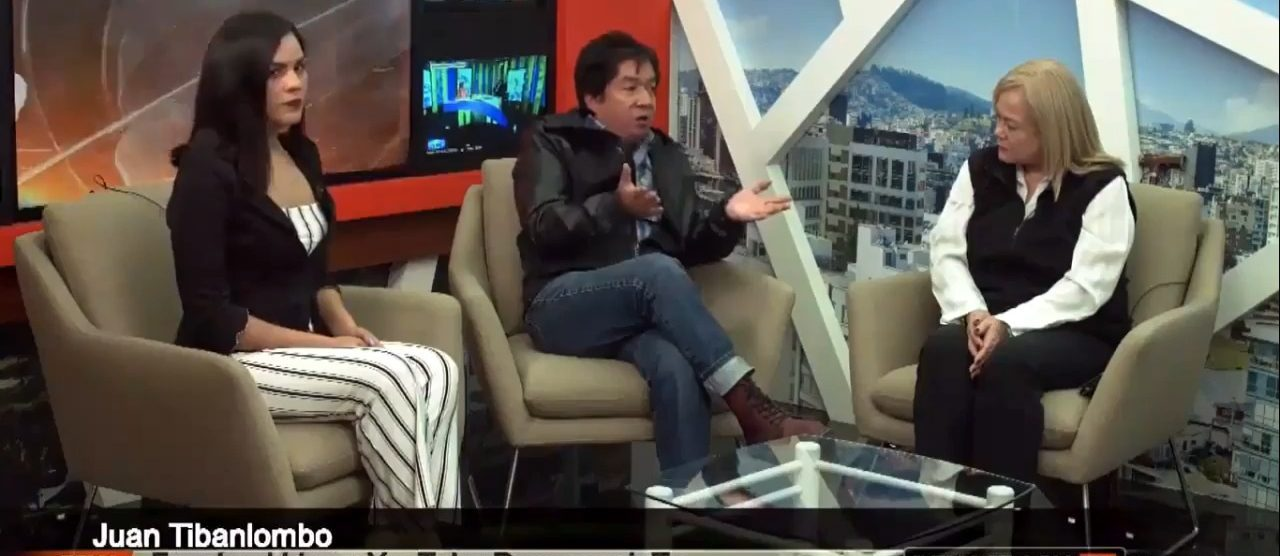 Dialoguemos.ec ahora en televisión nacional, el último proyecto periodístico de Juan Tibanlombo
