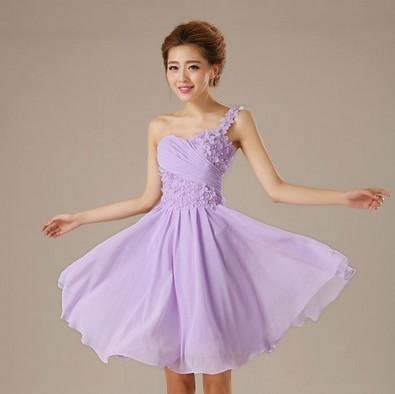 lilac-one-strap-font-b-bridesmaid-b-font-zipper-back-greek-goddess-dress-knee-font-b