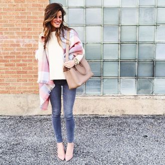 grey-skinny-jeans-cream-sweater-pastel-scarf-pastel-pumps-pastel-and-grey-jeans-outfit-brightontheday