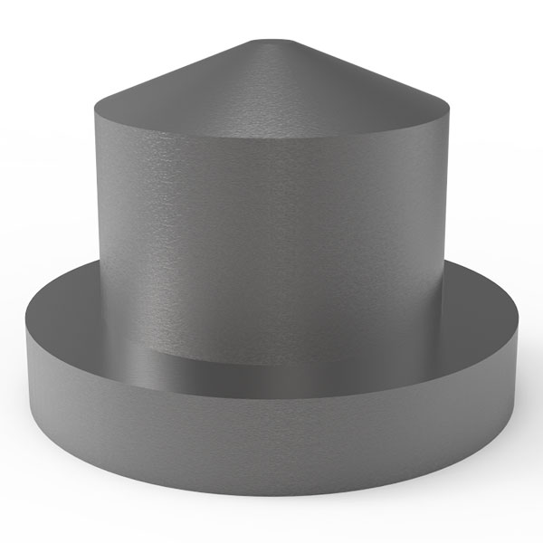 Diacell Gasket Indenter WC Anvil for Diacell X=3.1mm Design
