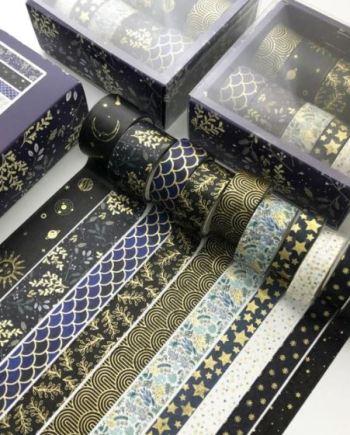 stars and pattern masking tape