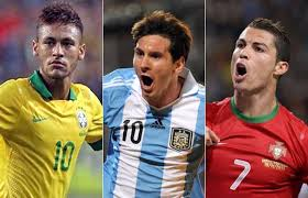 MESSI, NEYMAR AND RONALDO ON THE WORLD CUP DRAW ON FRIDAY