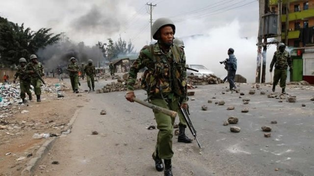 Kenyan police employed assault and rape during polls – HRW