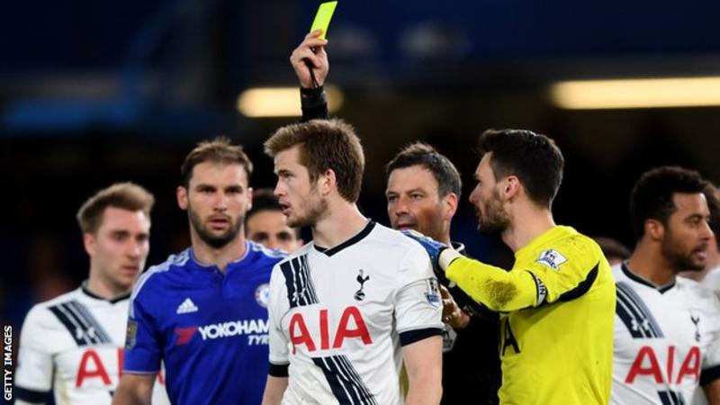 Former English Premier League Referee Mark Clattenburg says he allowed Tottenham to self-destruct against Chelsea in 2016