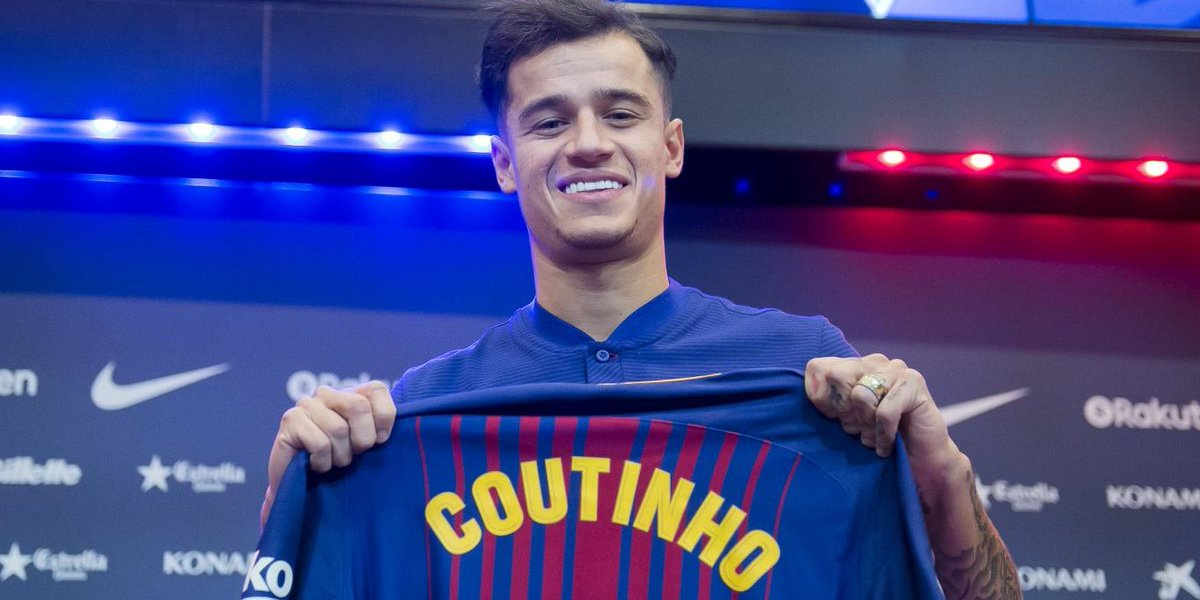Philippe Coutinho seals £146m Barcelona move