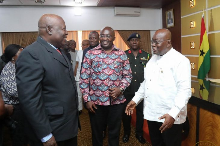 Martin Amidu sworn-In as Special Prosecutor