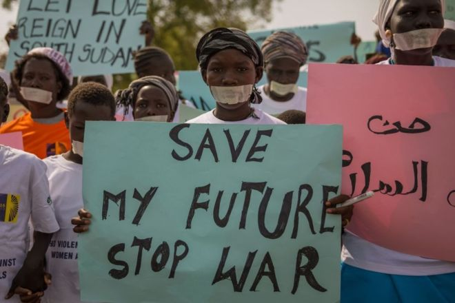 Children 'forced to watch rape' in South Sudan
