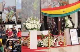 Ghanaian's pay last respect to late Veep Paa Kwesi Amissah-Arthur
