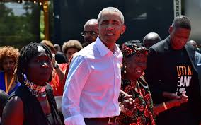 Excitement  grips  western Kenya as  former US President Barack Obama visits after 12 years