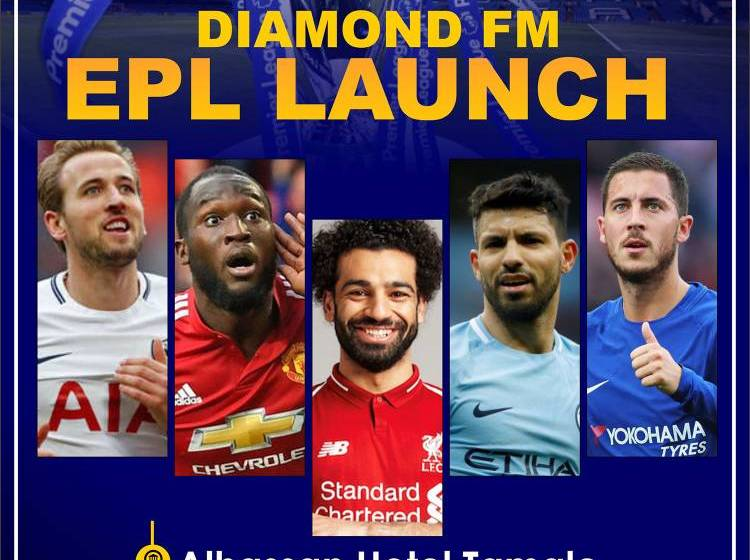 ALL IS SET FOR THE BIG LAUNCH OF THE 'DIAMOND EPL SHOW'
