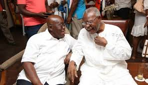 Late statesman J.H Mensah's body interred after state funeral in Accra