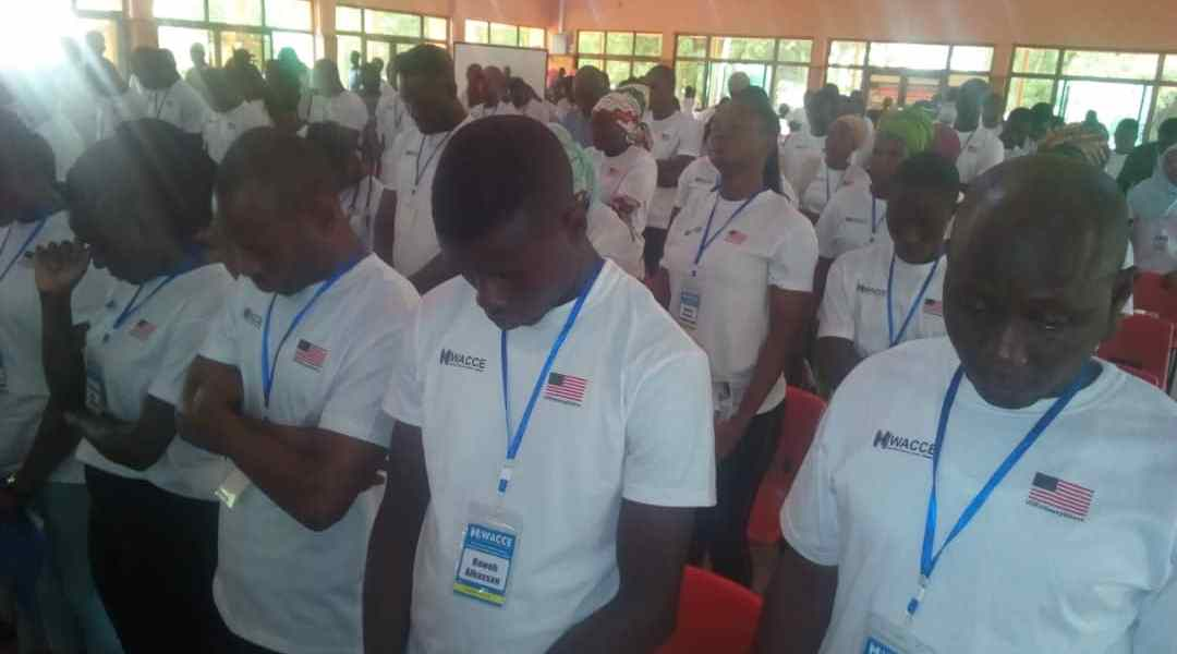 SELECTED YOUTH IN THE NORTHERN REGION RECEIVE TRAINING IN THE PREVENTION OF VIOLENCE AND EXTREMISM.