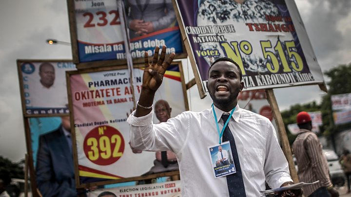 DR Congo election: Observers complain of irregularities
