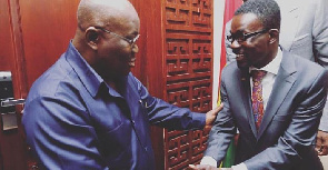 Akufo-Addo never met NAM1 'one on one' – Presidency