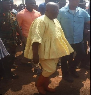 Crush anti-peace 'conflictprenuers' in Dagbon – Akufo-Addo
