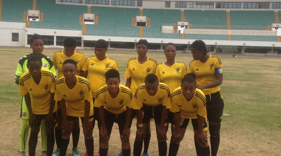 Pearlpia Ladies held Ampem Darkoa Ladies to a goalless draw in Techiman