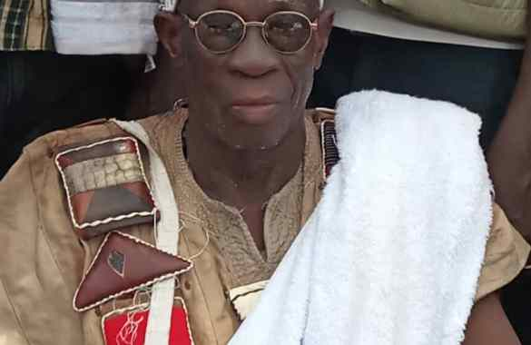 Final funeral rites of late Tolon Naa underway with an array of  cultural displays