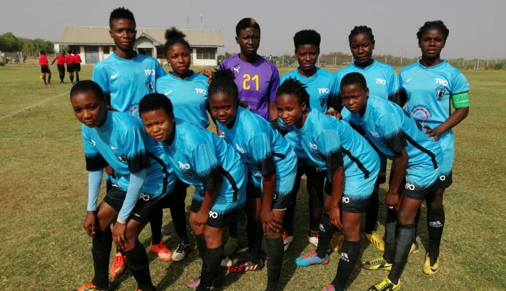 Northern Ladies failed to glitter as they were forced to a 2-2 draw in Tamale.